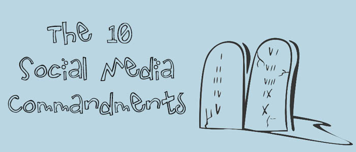 10 Social-Media-commandments